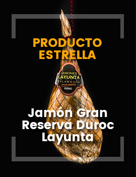 Jamón Gran Reserva Layunta